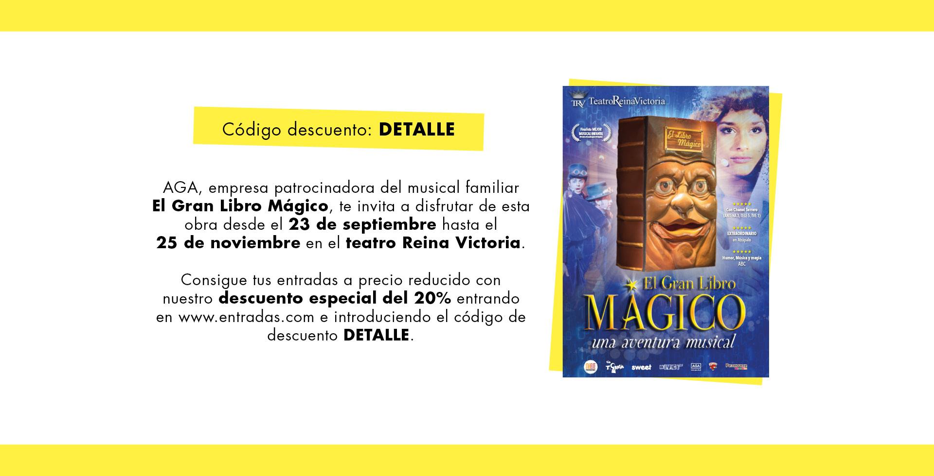 EL GRAN LIBRO MAGICO - AGA PROMO